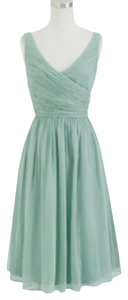 J.Crew Silk Chiffon Bridesmaid A Line Wedding Dress