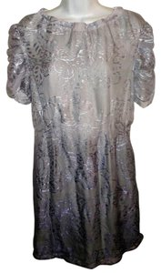 W118 by Walter Baker Ombre Silk Cocktail Formal 4 Dress
