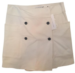 Diane von Furstenberg Skirt white/cream