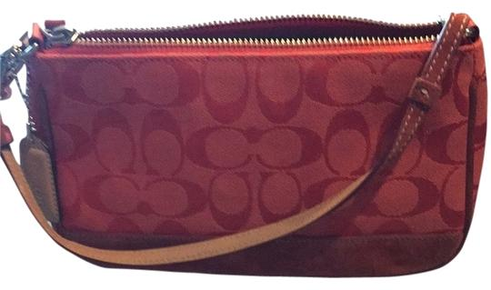 Preload https://item4.tradesy.com/images/coach-leatherware-est-1941-red-leather-baguette-2128863-0-0.jpg?width=440&height=440