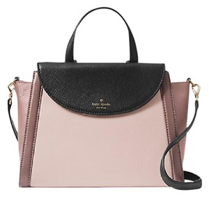 Kate Spade Satchel in Rose Black Porcini