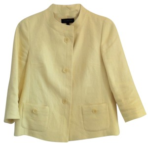 Talbots Lemon Yellow Blazer