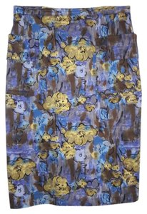 Plenty by Tracy Reese Pencil Pocket Skirt Multicolored