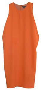 COS short dress Bright orange with a touch of peach on Tradesy
