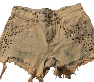 BDG Cut Off Shorts light denim