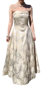 Scott McClintock Strapless Brocade Formal 2nd Wedding Prom Dress