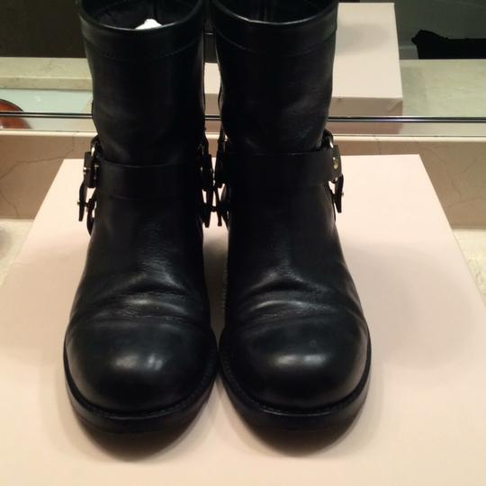 Jimmy Choo black with gold accessories Boots Image 1