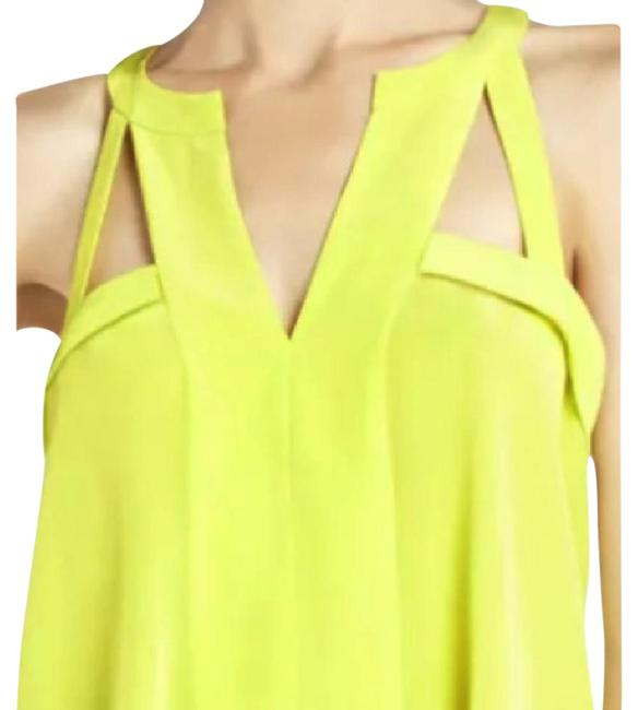 Item - Avalyn Neon Yellow/Chartreuse Top