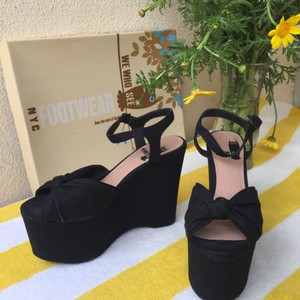 Urban Outfitters black Wedges