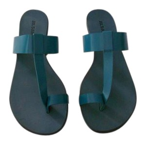 Jil Sander Color Made In Italy Aquamarine Sandals