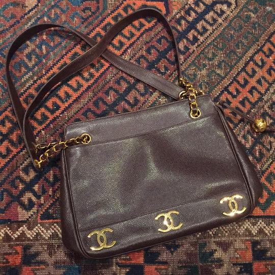 Chanel Tote in Brown Image 5