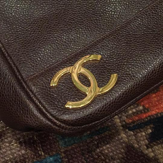 Chanel Tote in Brown Image 6