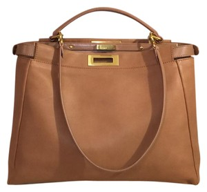 Fendi Satchel in Beige Nude