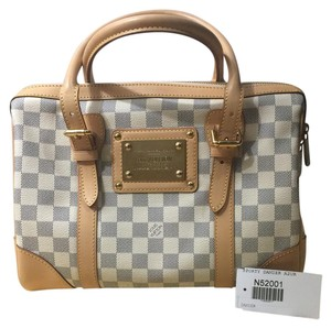 bb5311bed273 Added to Shopping Bag. Louis Vuitton Satchel in Azur
