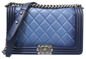 Chanel Omber Boy Medium Shoulder Bag