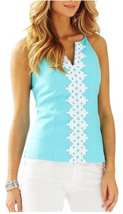 Lilly Pulitzer Top blue/white