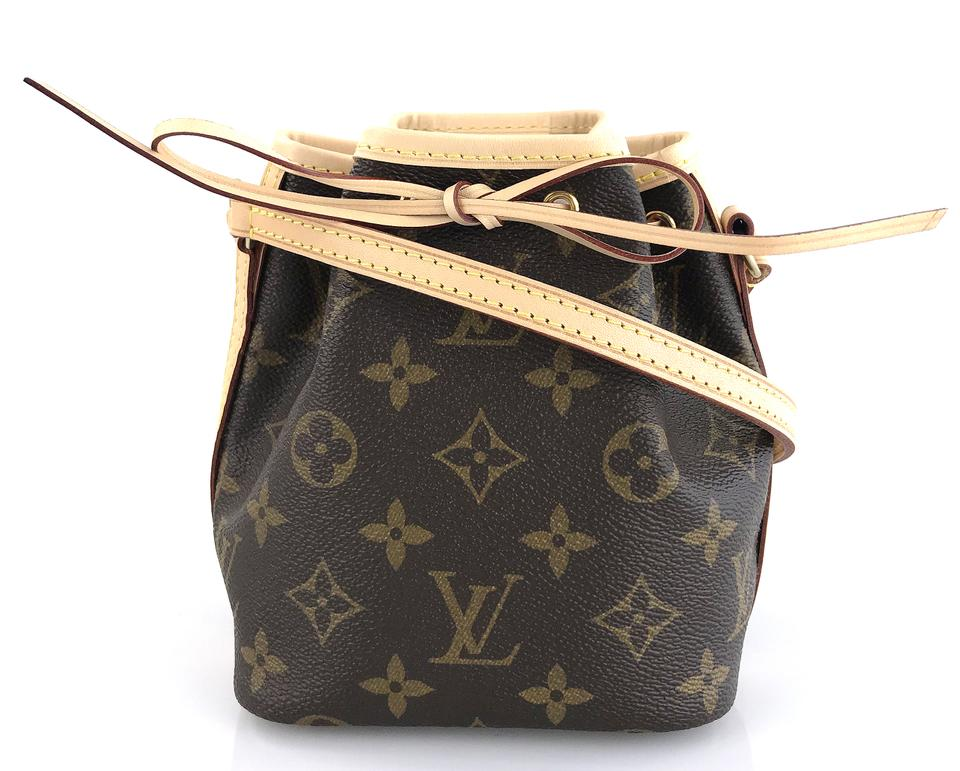 f2076625f7ce8 Louis Vuitton Nano Noe Monogram Canvas Shoulder Bag - Tradesy