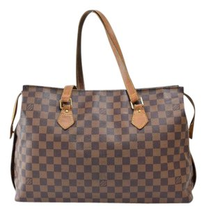 Louis Vuitton Chelsea Luco Neverfull Columbine Tote in Browns