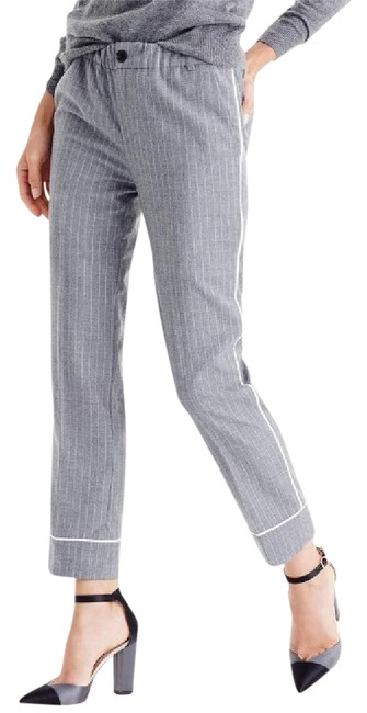 Item - Grey Party Pj In Pinstripe / / Pinstripe Pants Size 14 (L, 34)