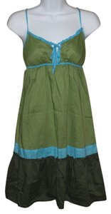 American Eagle Outfitters short dress Green on Tradesy