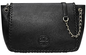 Tory Burch 51159763 Marion Small Flap Pebbled Leather Shoulder Bag