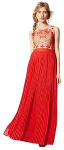 Anthropologie Boho Formal Wedding Guest Dress