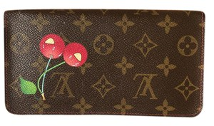 Louis Vuitton Louis Vuitton Red Cherry Cherise Long Zippy Wallet Box Pouch