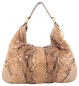 Gucci Python Large Hobo Bag