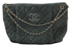 Chanel Tote in Blue/turquoise