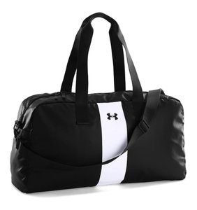 Under Armour Gym Duffle Polyester Womens BLACK Travel Bag