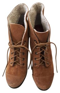 Luxury Rebel Ankle Tan Boots