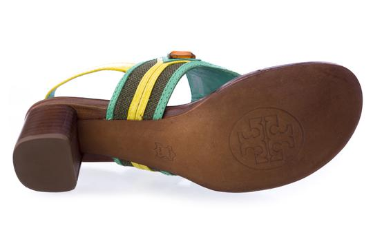 Tory Burch Oil Green Sandals Image 2