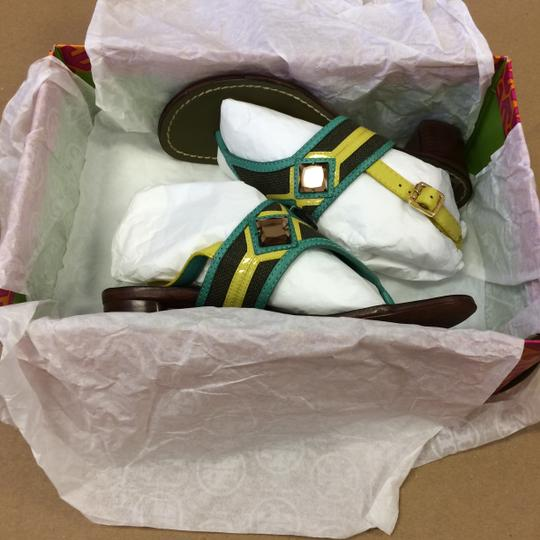 Tory Burch Oil Green Sandals Image 3