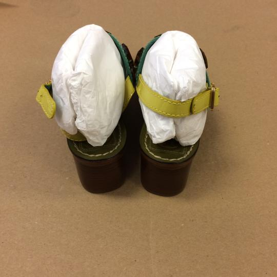 Tory Burch Oil Green Sandals Image 4