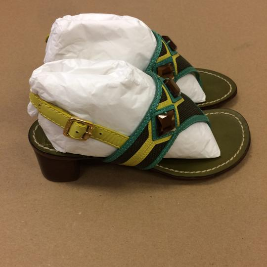 Tory Burch Oil Green Sandals Image 6