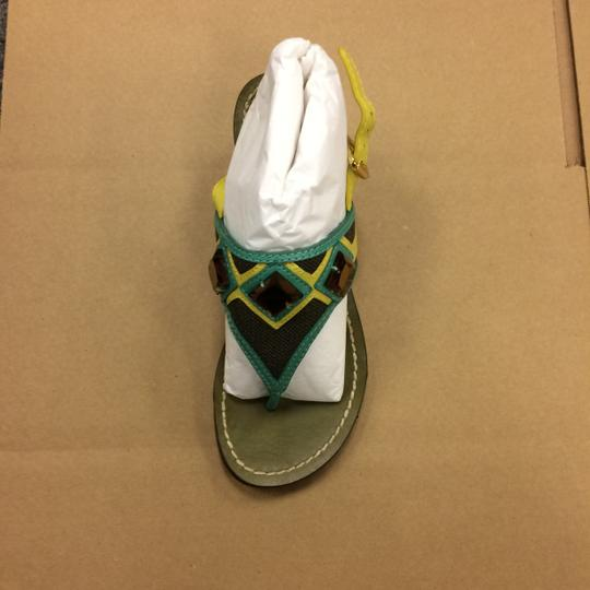 Tory Burch Oil Green Sandals Image 8