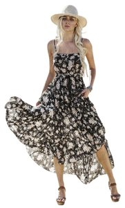 Black floral Maxi Dress by Spell and the Gypsy Collective