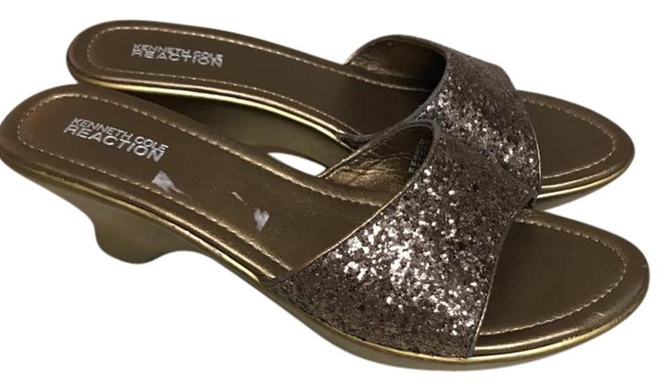 Kenneth Cole Reaction Rose Gold Mules/Slides Giimmer and Glam Mules/Slides Gold b141ab