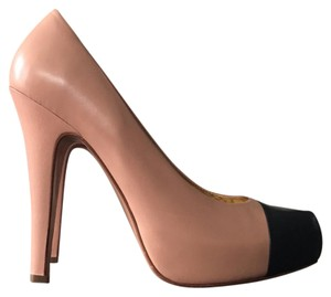 Report Signature nude pink black Platforms