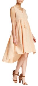 Peach Maxi Dress by Free People Summer Cotton