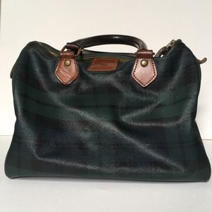 Polo Ralph Lauren Satchel in green plaid
