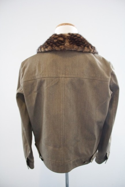 Louis Vuitton Inexpensive Louis V Louis V Louis New Olive Womens Jean Jacket