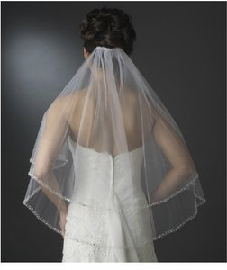 David's Bridal Light Ivory Medium 2t - Bridal Veil