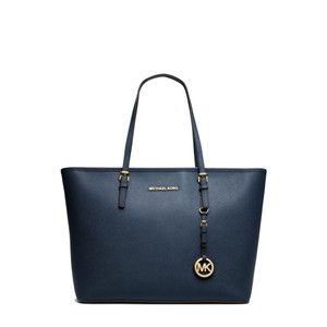 Michael Kors Tote in Navy/Gold