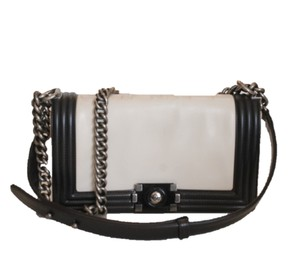Chanel Le Boy Medium Ruthenium Shoulder Bag