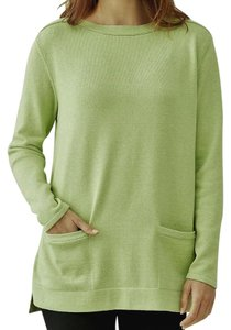 J. Jill Generous Fit Relaxed Fit Tunic Pockets Sweater