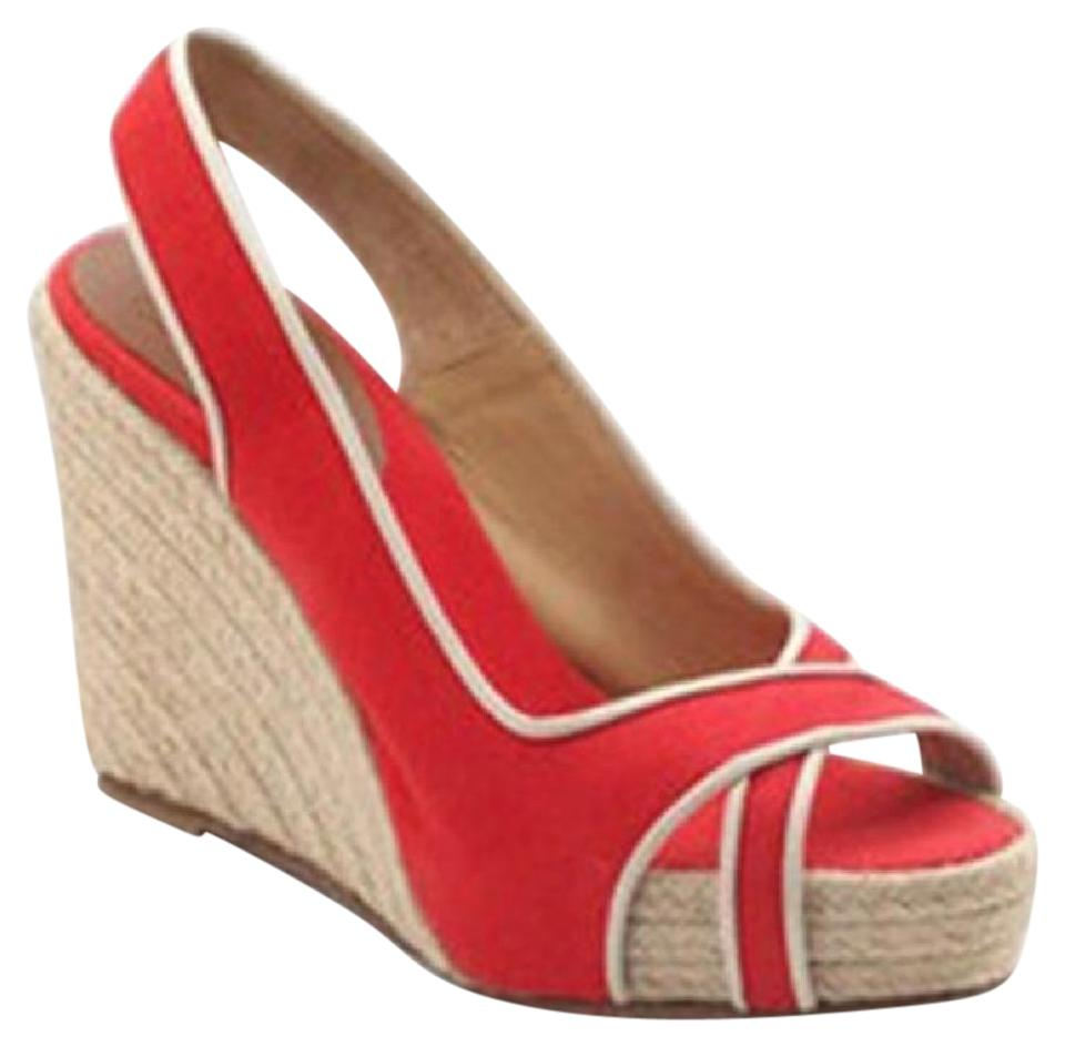 designer fashion b03fe d946d Christian Louboutin Louboutin Red Wedges
