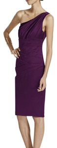 David's Bridal Plum David's Bridal Bridesmaid Dress Dress