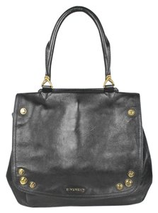 Givenchy Lambskin Leather Mirte Saddle Satchel in Black