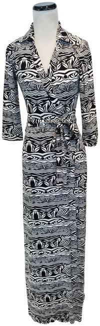 Black and White Maxi Dress by Diane von Furstenberg